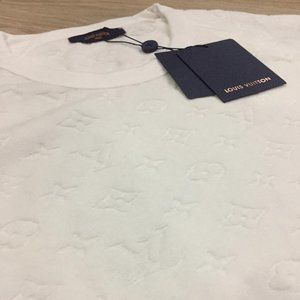 LOUIS VUITTON MEN'S TOWEL T SHIRT NWT (MEDIUM)